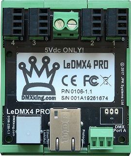 DMXking LeDMX4PRO